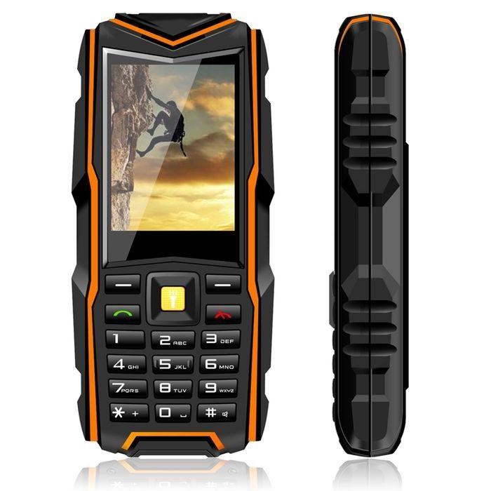 Original Vkworld Stone V3 IP67 Waterproof Shockproof Dustproof Mobile Phone Power Bank Long Standby Outdoor Army 5200mAh