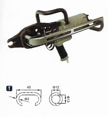 Professionelle Heavy Duty Pneumatic Gabion Hog Ringzange