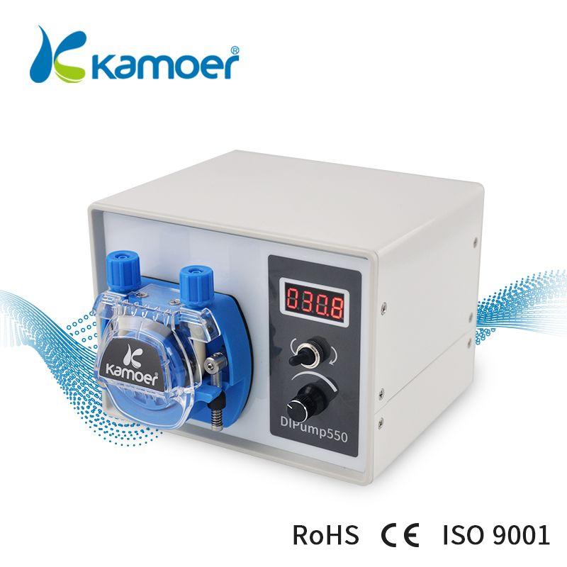 Kamoer High Flow 24V DC DIP Intelligent Power Off Memory Peristaltic Pump For Liquid Dispenser Food Industry