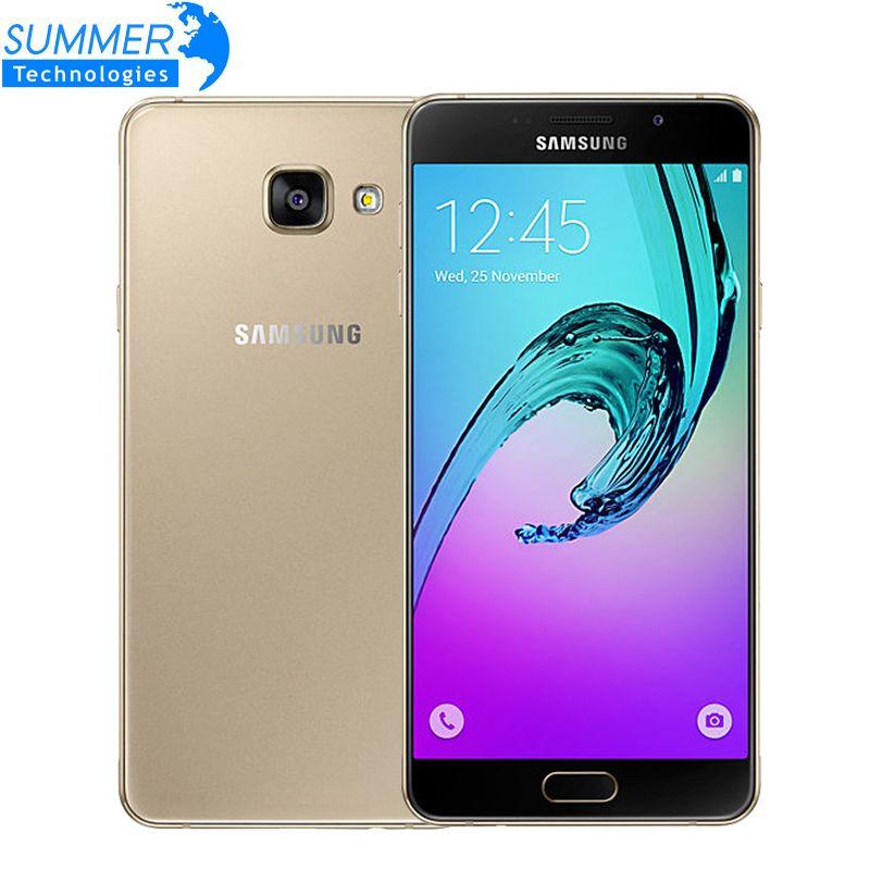 Original Samsung Galaxy A7 A7100 4G LTE Mobile Phone Dual Sim 5.5