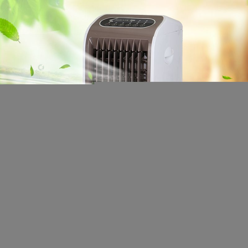 75W 220V Evaporative Air Cooler Fan Portable Remote Desk Electric Fan Mini Air Conditioner Device Cool Soothing Wind Home