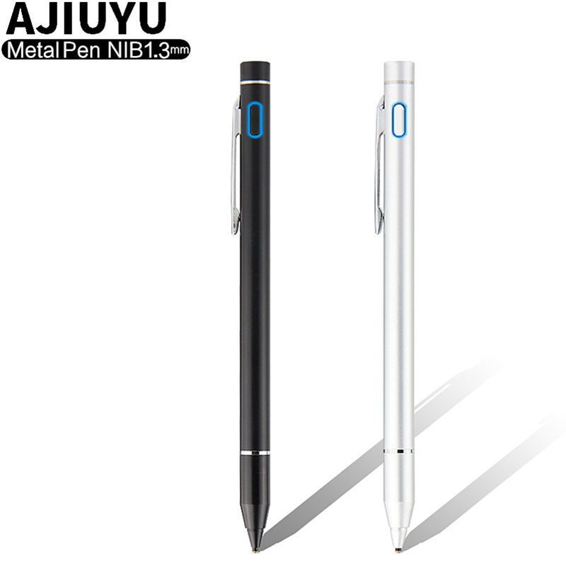 Pen Active Stylus Capacitive Touch Screen For Cube Nexus 7 9 HP Dell Venue 8 Pro VOYO Onda LG G Pad Tablet Case High precision