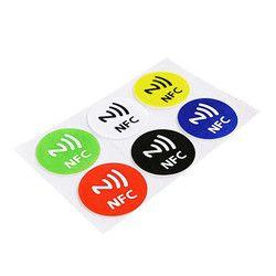 (6 Botol) tag NFC Stiker NTAG213 NFC Tag RFID Label Perekat Stiker Universal Label Ntag213 RFID Tag untuk Semua Telepon NFC