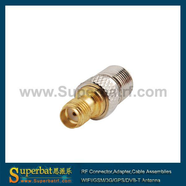 Superbat SMA-F adapter connector SMA female Jack to F female straight