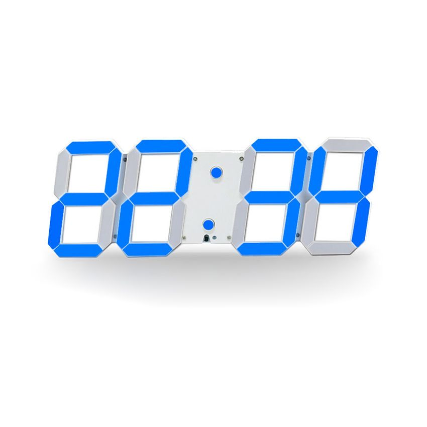 Large Digital 3D Led Wall Clock Modern Design Home Decor Duvar Saati Saat Alarms Temperature Date Countdown Timer Wall Watch