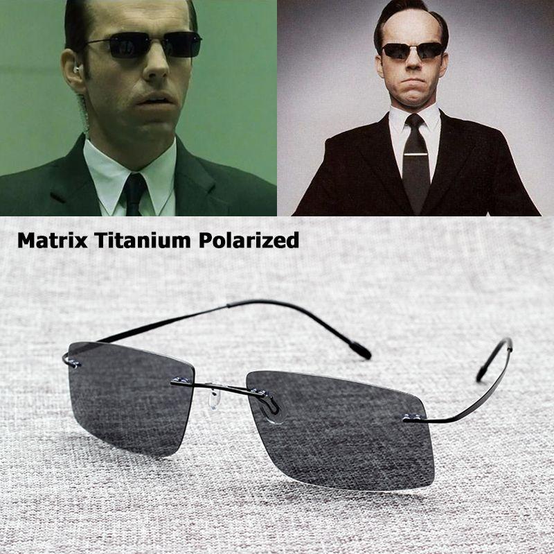 Jackjad Новый 2017 матрица Стиль Поляризованные Вождения Для мужчин Солнцезащитные очки для женщин бренд Дизайн Титан памяти Рамки Защита от сол...