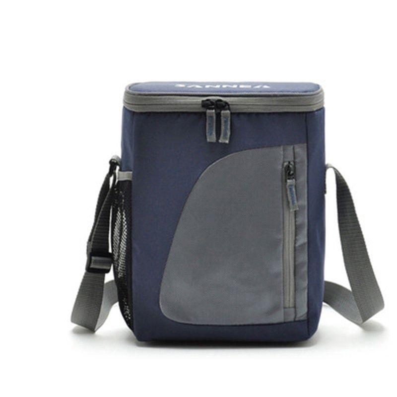 8.8L Термальность кулер изолированный Водонепроницаемый Ланч-бокс хранения Пикник сумка Портативный изоляцией lunchbag охладитель сумки