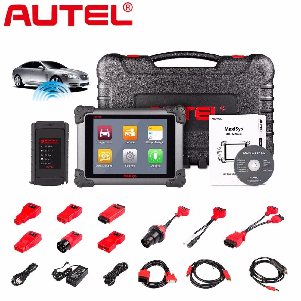 Autel MaxiSys MS908 Connect MaxiFlash j2534 Be Equal to Maxisys PRO MS908P Car Diagnostic and programming Tool OBD2 OBD TOOL