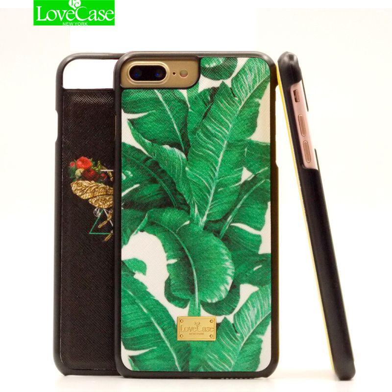 De luxe en cuir de couverture arrière pour iphone 8 7 Plus 8 Plus cas PU + dur PC Top qualité Solide Couleur marque phone case cover 4.7