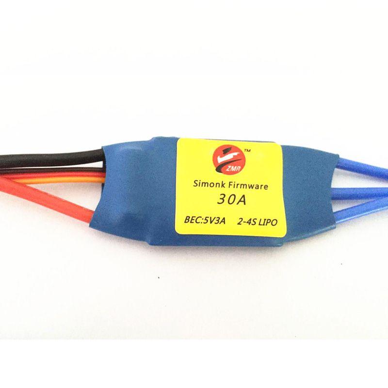 Zmr Simonk прошивки 20A 30A 40A 5V3A бесщеточный ESC Электрический Скорость контроллер 2-4 S Lipo для FPV-системы multi ротора Quad Стандартный edition