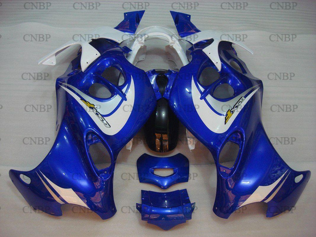 Fairings GSX750 05 Fairings GSX750 99 00 2005 - 2006 Katana Blue White Bodywork for Suzuki GSX600F 06