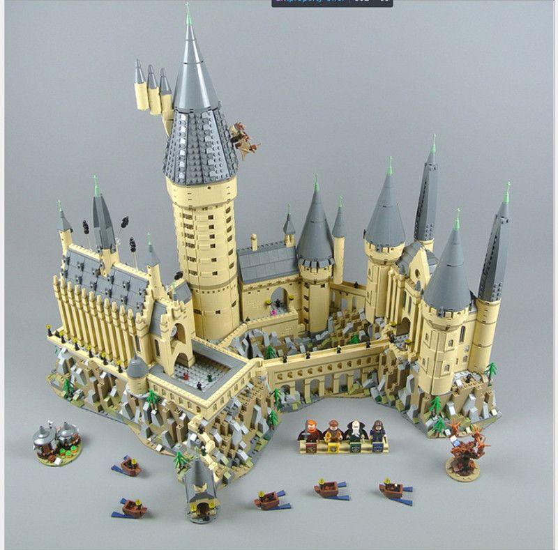Lepin 16060 lepin Harry Magie Hogwarts Castle Potter set Kompatibel legoing 71043 Bausteine Ziegel Kinder Pädagogisches Spielzeug