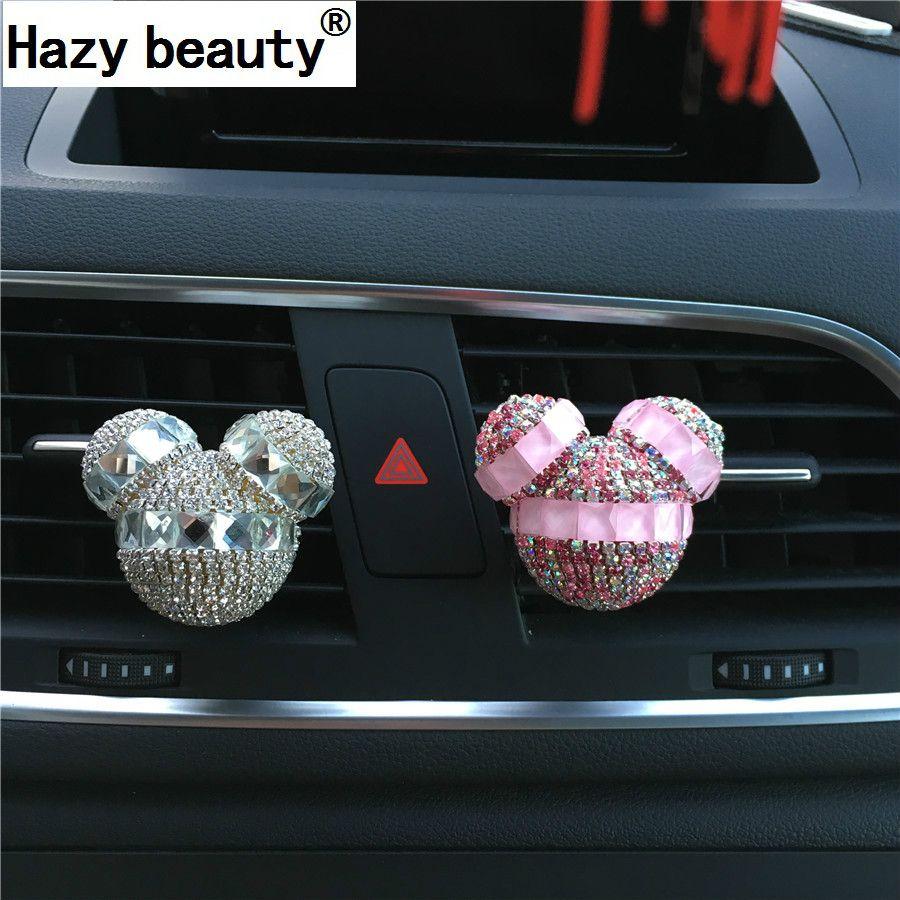Туманно красоты Авто-кондиционеры выходе автомобилей украшения Ароматерапия diamond стайлинга автомобилей Парфюмерия 100 Оригинал