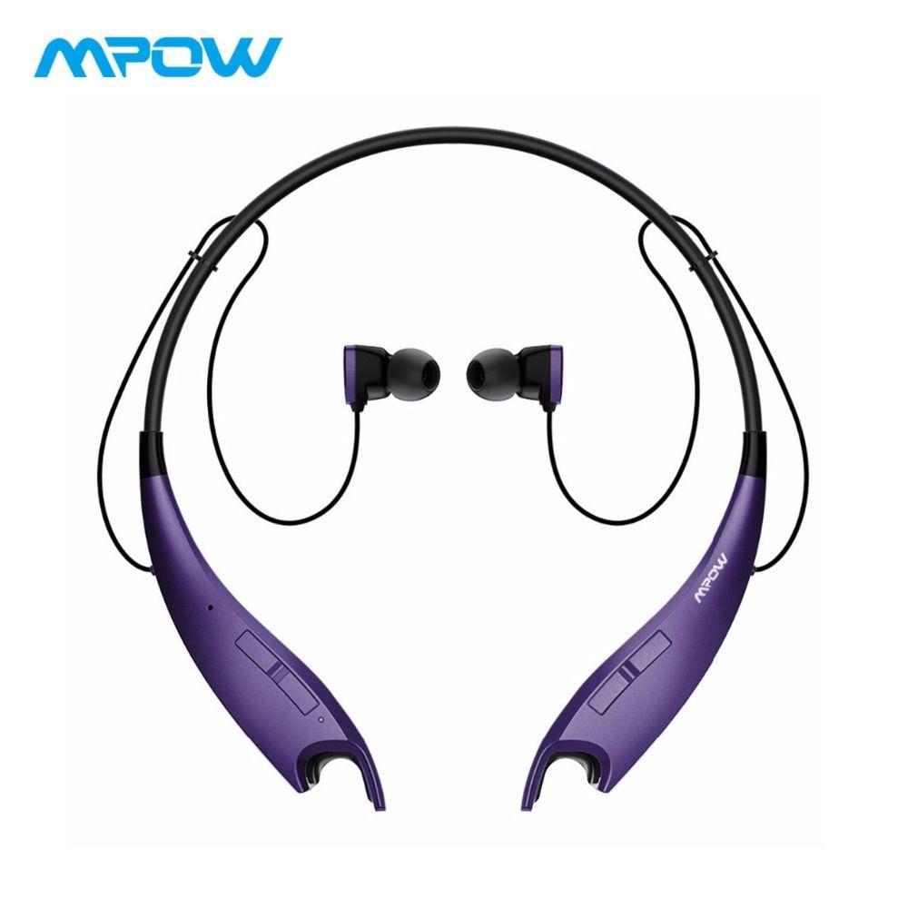 Mpow morsi Sport sans fil écouteurs APT-X Bluetooth casque CVC 6.0 sans fil écouteurs mains libres appelant pour iPhone X/8/7/Huawei