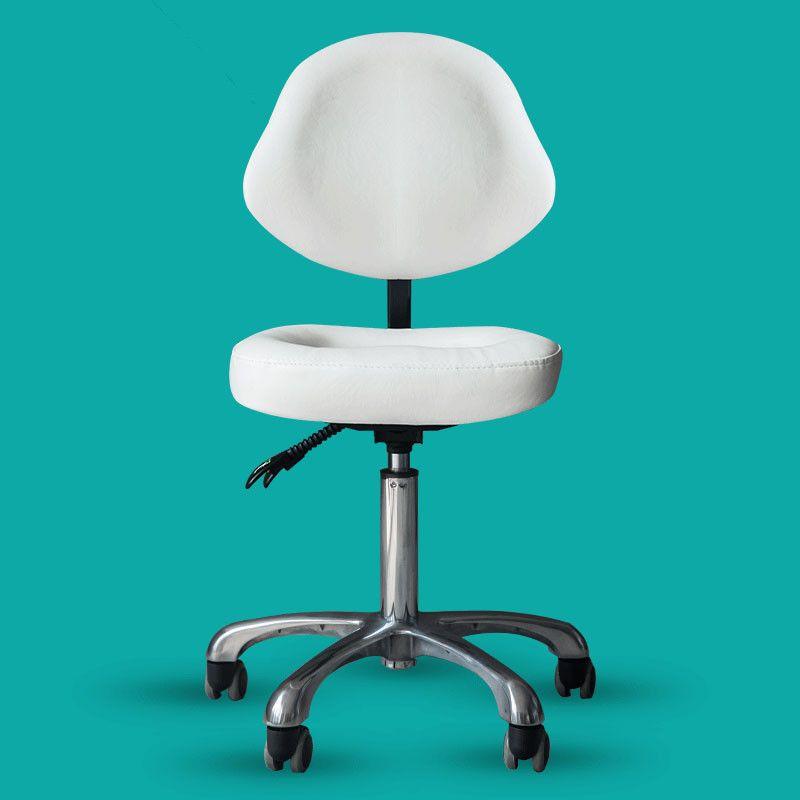Schönheit Hocker Stuhl Zurück Unterstützung Zahnarzt Arzt Medizinische Büro Salon Spa Tattoo Ausrüstung Hydraulische Einstellbare Roll Hocker