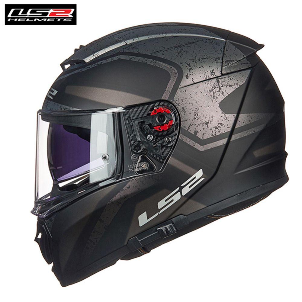*Free PINLOCK* LS2 FF390 Breaker Full Face Motorcycle Helmet Men Racing Casque Casco Moto Capacetes de Motociclista Motor Helm