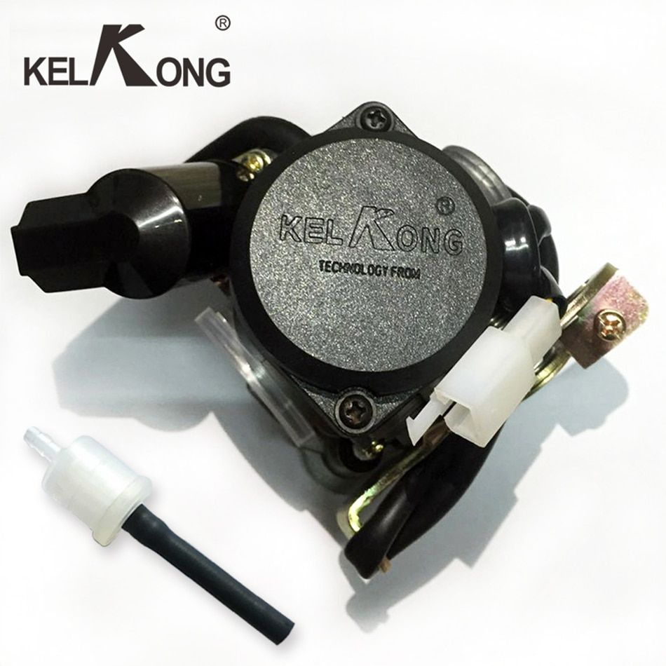 KELKONG Brand New 50CC Scooter Carburetor Moped Carb for 4-Stroke GY6 SUNL ROKETA JCL Qingqi Vento For GY6 50CC-110CC Scooter