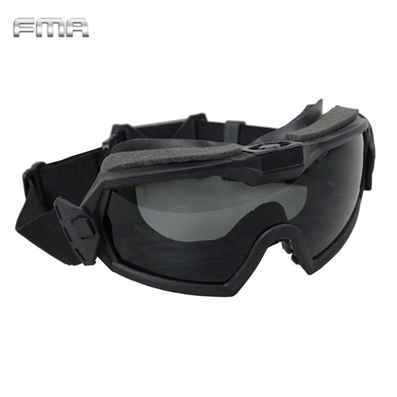 FMA LPG01BK12-2R Regulator Goggle With Fan Updated Version Tactical Airsoft Paintball Safety Eye Protection Glasses Eyewear