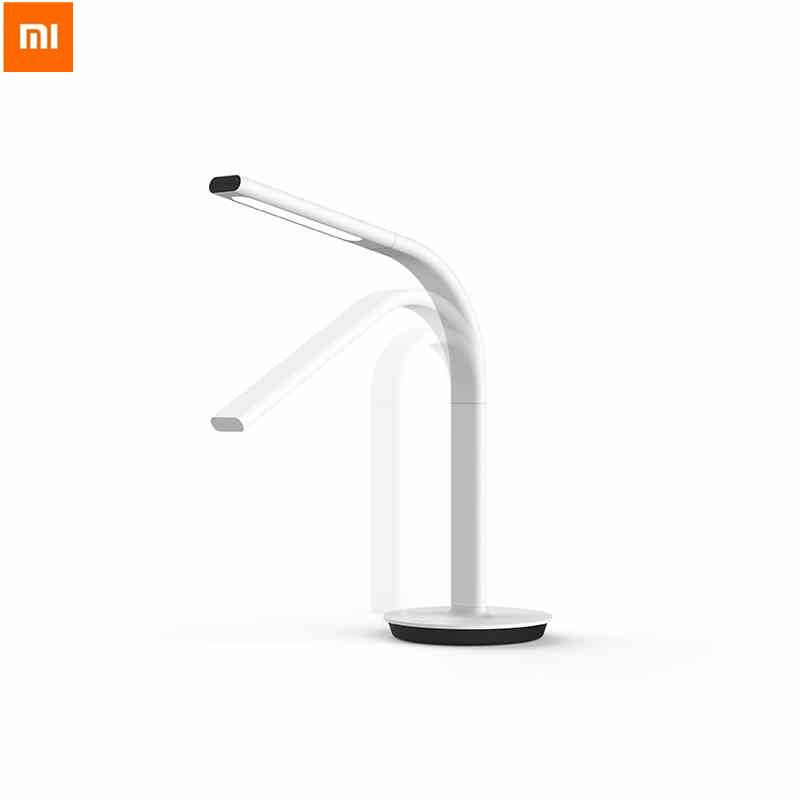 Original Xiaomi Mijia Smart Desk Lamp LED Light Philips2nd Folding Table Lamp Dual Light Touch Sensor/App Control Free Adapter