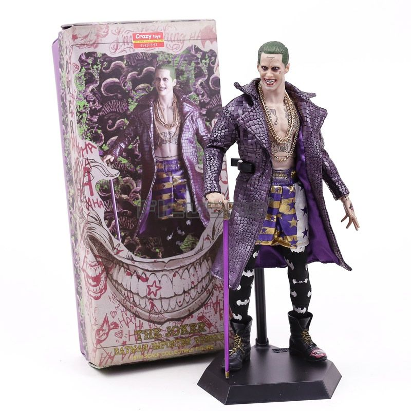 Crazy Toys Suicide Squad The Joker Batman Imposter Verson 1/6th Scale Collectible Figure Model Toy Gift