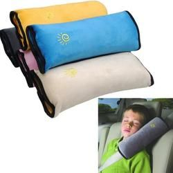 Haute Qualité Bébé Enfants Sangle De Sécurité Ceintures De sécurité de Voiture Oreiller Épaule Protection Car Styling Accessoires Gris Bleu Rose 3 Couleur