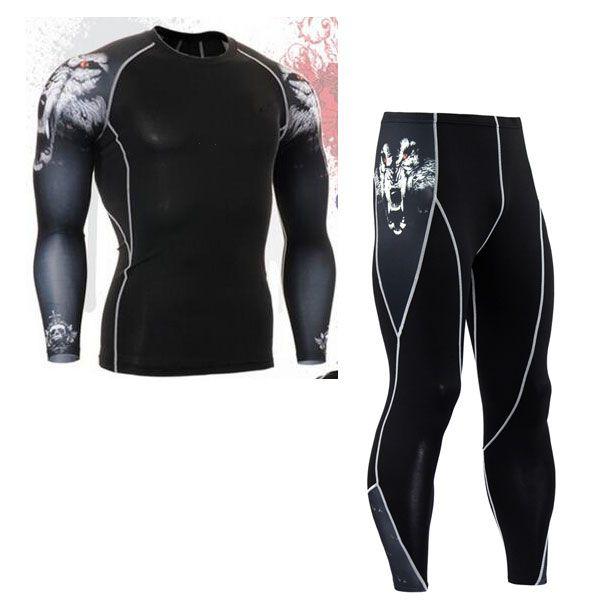 Бесплатная доставка Мужская термобелье мужской одежды комплекты на осень-зиму теплая одежда для верховой езды костюм