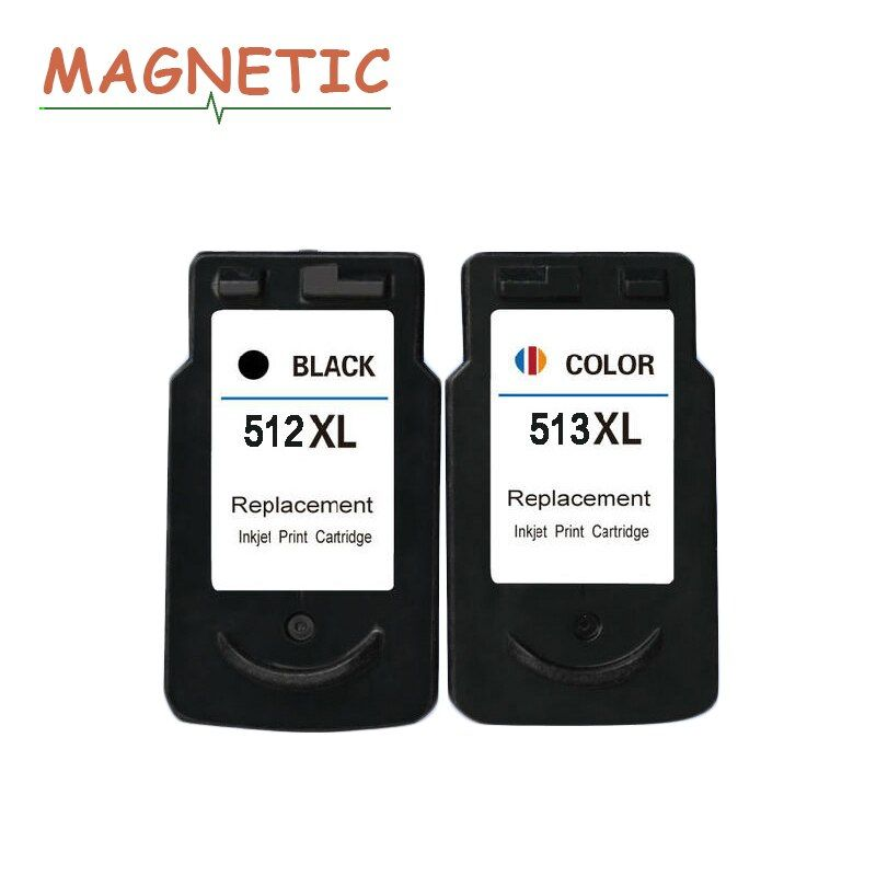 2pcs Compatible PG512 CL513 Ink Cartridges For Canon Pixma iP2700 MP230 MP240 MP250 MP252 MP260 MP270 MP280 pg 512 cl 513