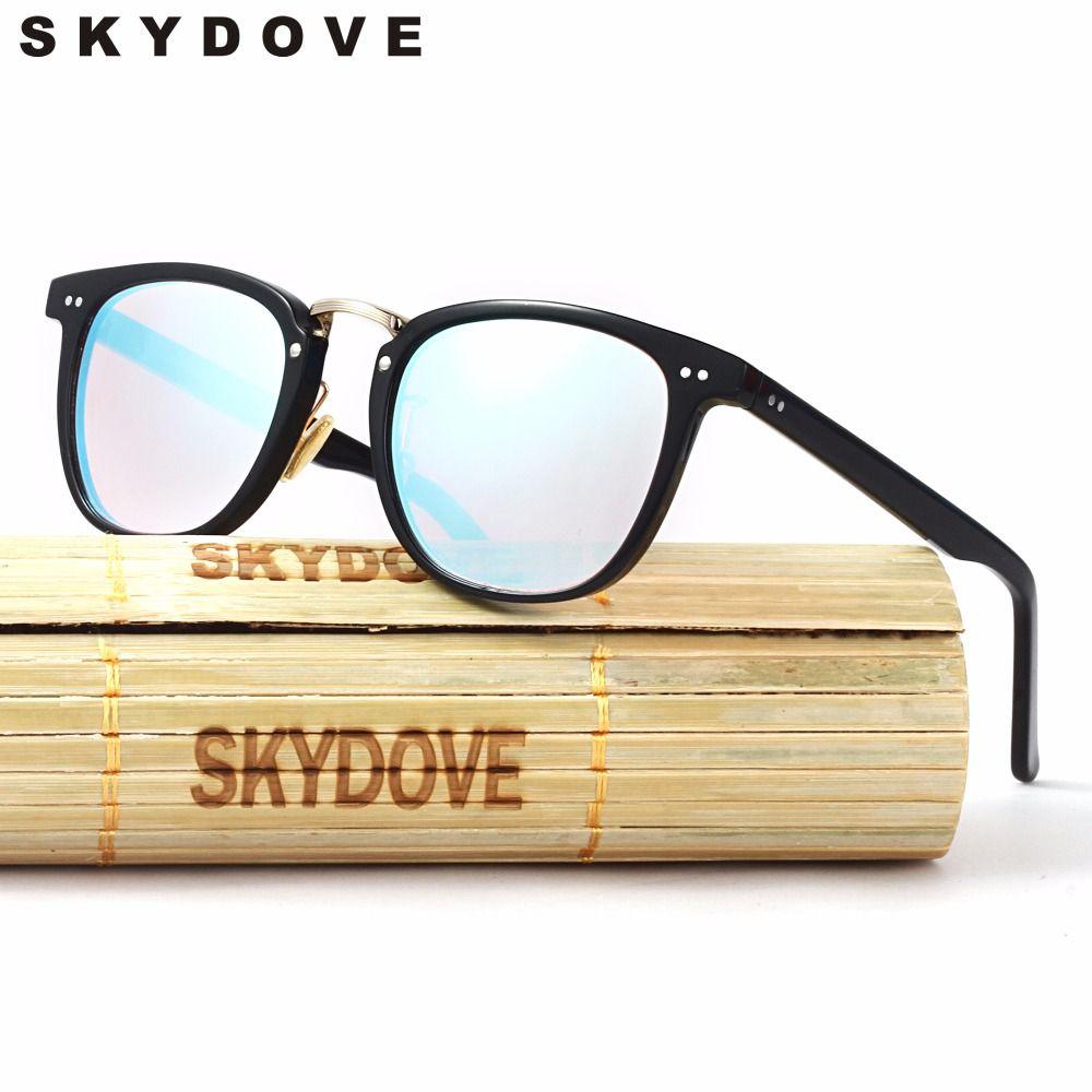 SKYDOVE Vintage Farbenblindheit Brille Arbeiten Prüfung Fahrer Gläser Rote Linsen Männer Sonnenbrille Kunststoff sonnenbrille-frauen