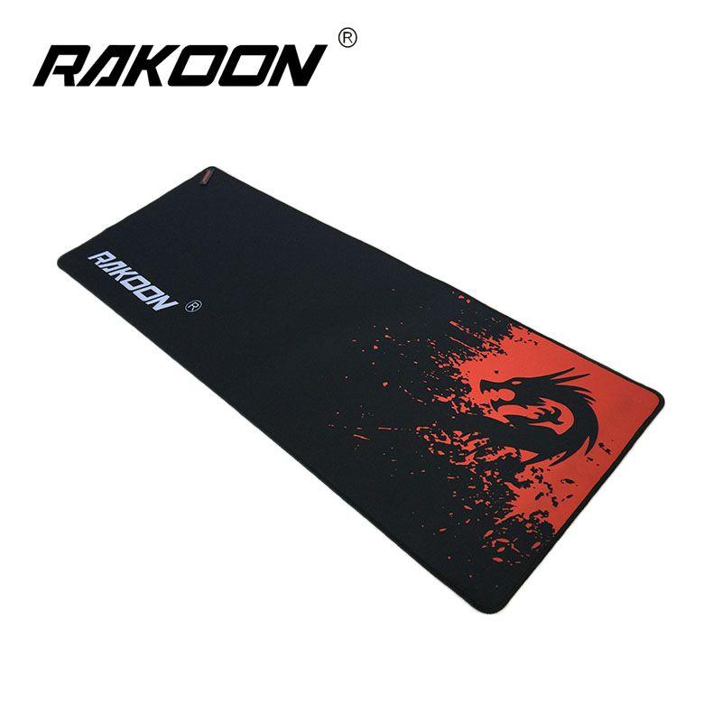 Rakoon Red Dragon grand tapis de souris de jeu 30*80 CM bord de verrouillage tapis de souris vitesse/Version de contrôle tapis de souris pour Dota 2 CS GO