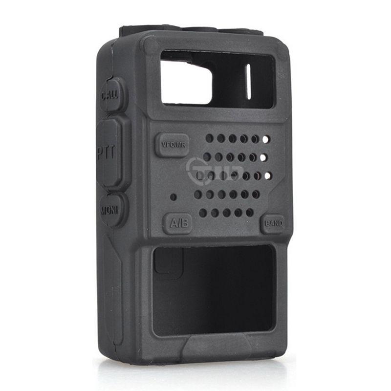 Silicone Souple étui de protection Cas pour Baofeng UV-5R/UV-5RA/UV-5R Plus/UV-5RE/UV-5RC/F8 +