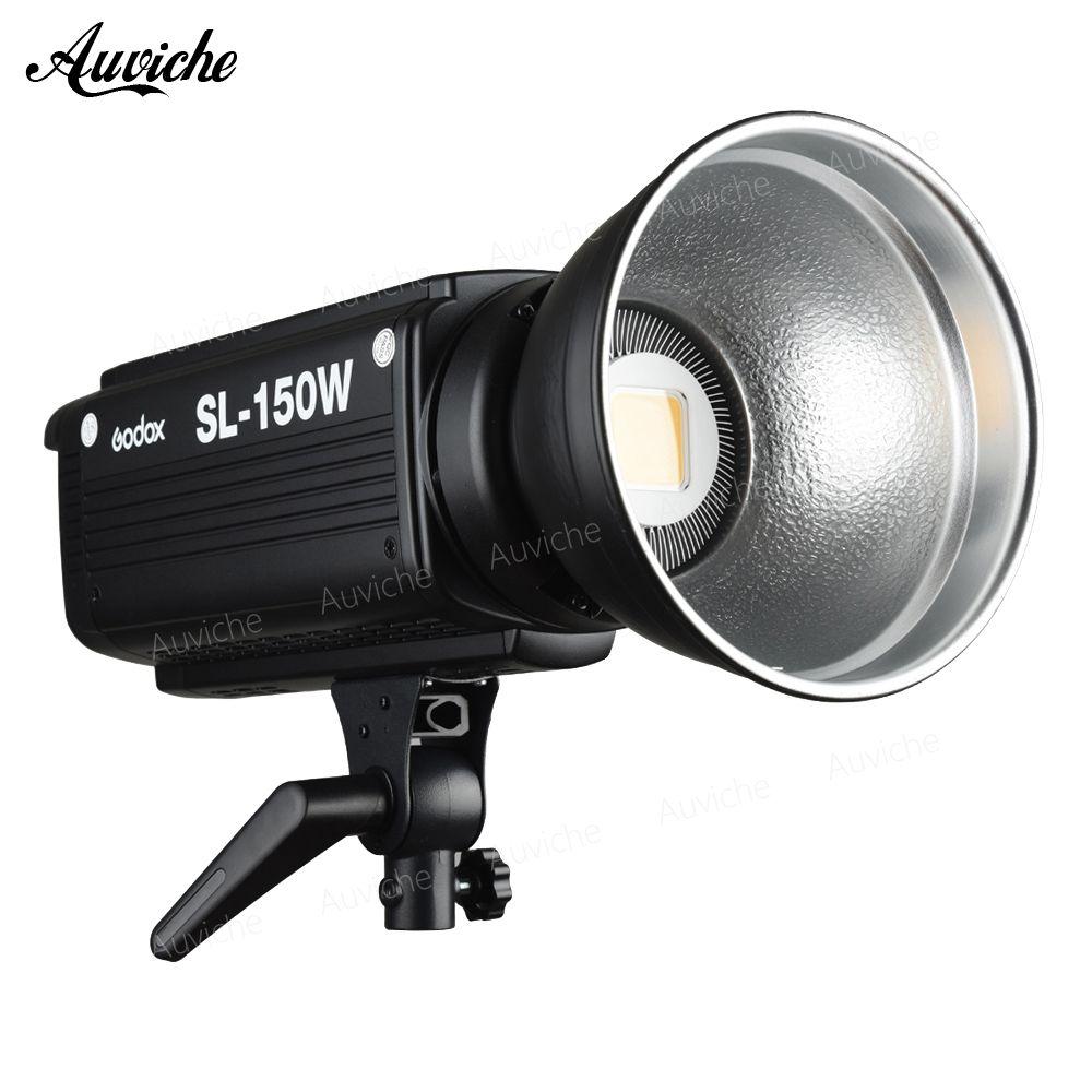 Godox SL-150W 5600 Karat Studio Led-videoleuchte Füllen licht Foto FÜHRTE Licht Bowens Berg Weißes licht Version für Studio Video