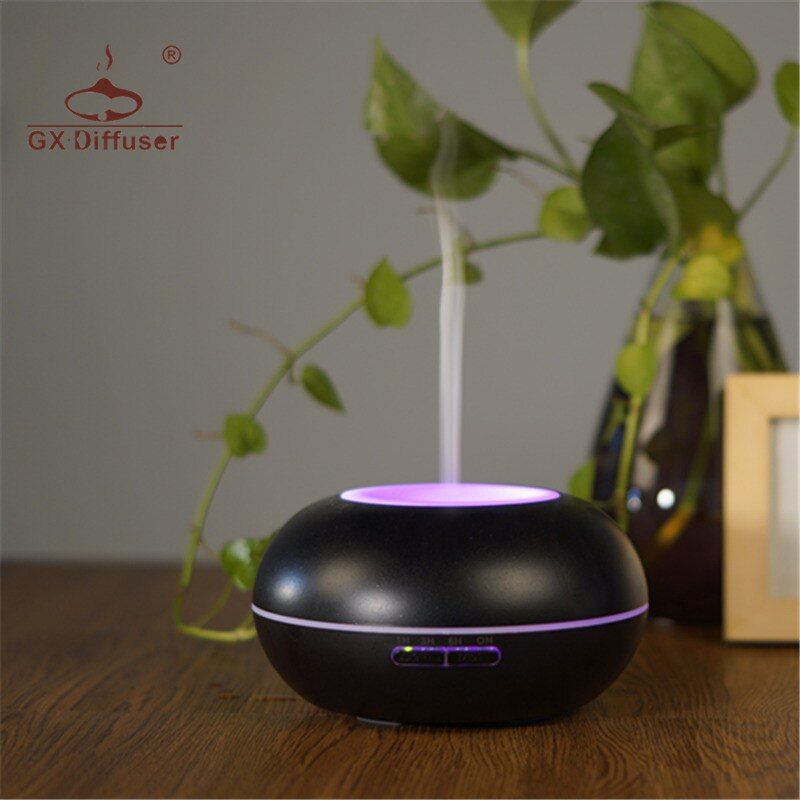 GX.Diffuser Aroma Diffuser 7 LED Colorful Night Light Aroma Diffuser Ultrasonic Essential Oil Aromatherapy For Yoga & Home Use