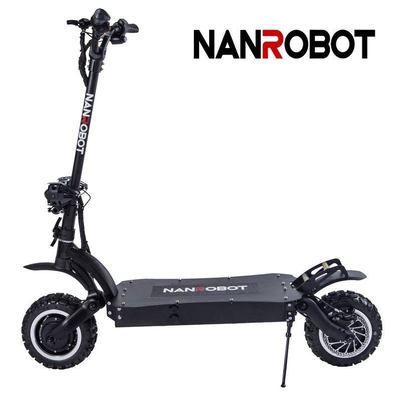 NANROBOT LS7 Leistungsstarke 11 ''LG 60V 35AH 3600W Motor Erlauben Top Speed 52 MPH und 56 Miles erwachsene Elektrische 2 Rad kick e Roller