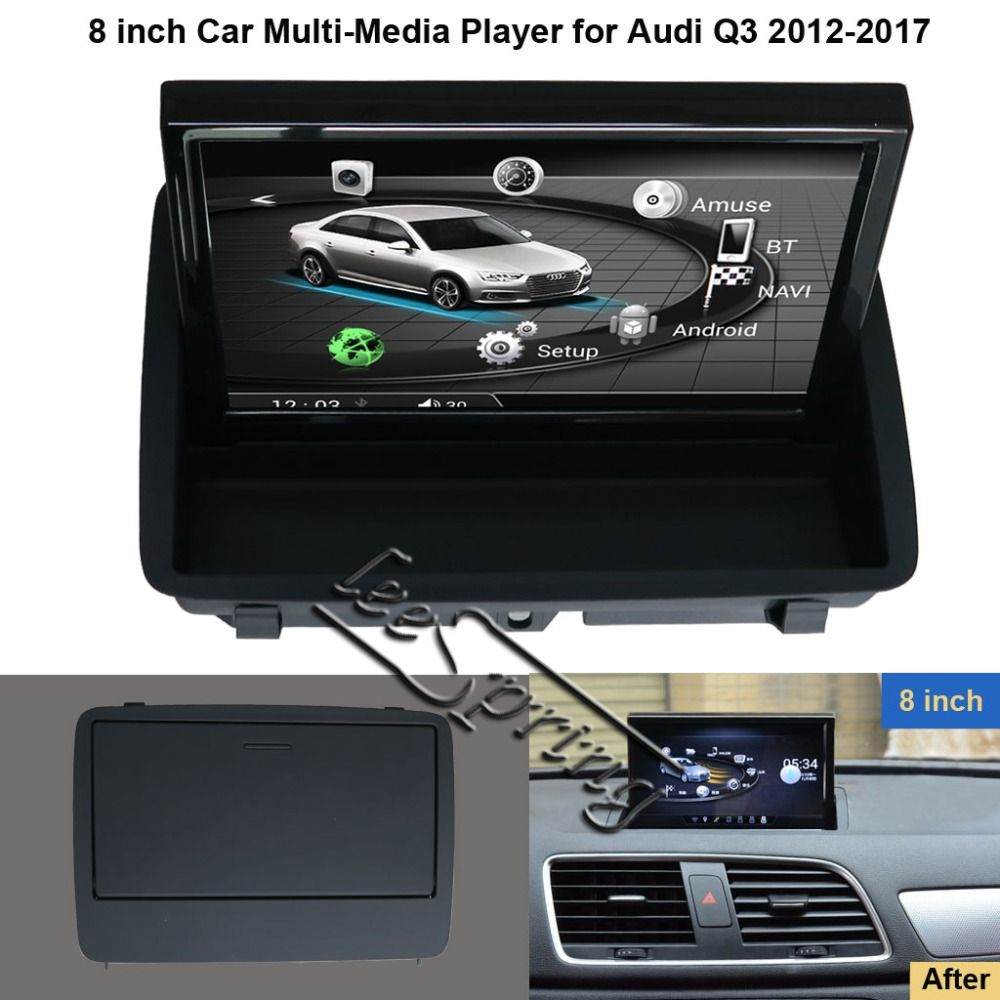 8 inch Car Multimedia Player for Audi Q3 2012-2017 with GPS Navigation MP5 Wifi