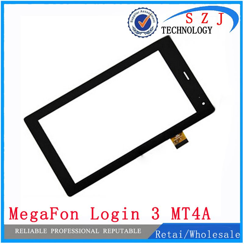 New 7'' inch for MegaFon Login 3 MT4A Login3 MFLogin3T touch screen panel digitizer glass Sensor replacement Free shipping
