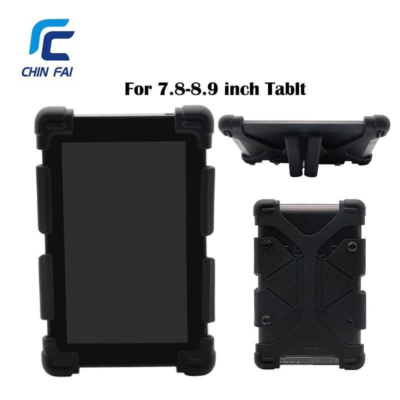 CHINFAI Universel En Silicone étui pour lenovo TAB 4 8 Tablette Antichoc étui pour ipad Mini 7.9 ''étui pour huawei T3 8.0 Tablette