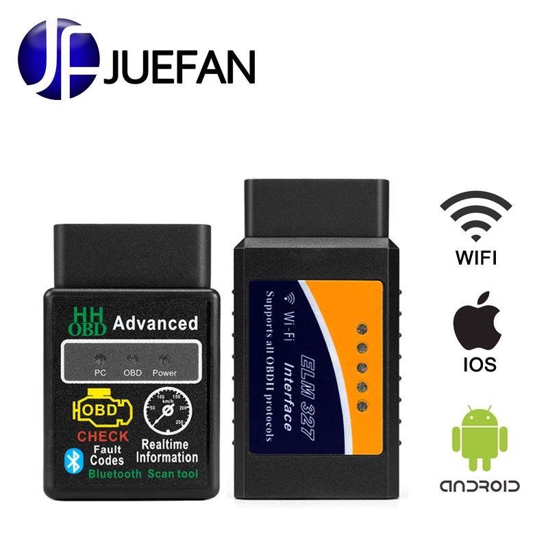 100% Vgate Bluetooth+ WIFI ELM327 V1.5 OBD2 Auto Code Reader obd 2 Car diagnostics interface ELM 327 Auto diagnostic scanner