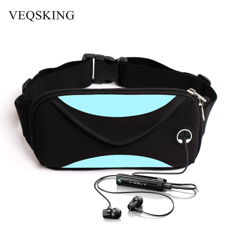 Unisex Running Waist Bag, Sport Waist Pack, Waterproof Mobile Phone Holder, Gym Fitness Bag Runnning Belt Bag Sport Accessories