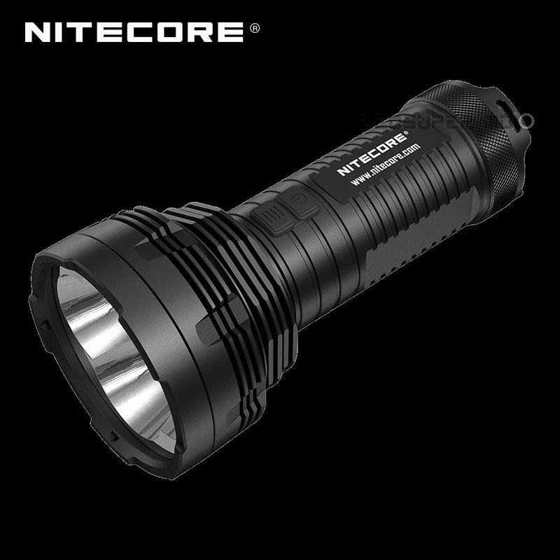 Tiny Monster Nitecore TM16GT Ultra Long Range 1003m Handheld Searchlight Flashlight 3600 Lumens by 4 CREE XP-L HI V3 LEDs