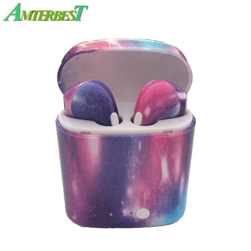AMTERBEST Custom Product I7s TWS Mini Wireless Bluetooth Earphone Stereo Earbud Headset with Charging Box for All Smart Phone