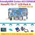 S5P6818 Octa-Core Cortex-A53 NanoPC-T3(1.4GHz,8GB eMMC)+X710 LCD+8GB SD+USB Cable+Power+Heat sink+Housing=NanoPC T3 Package A