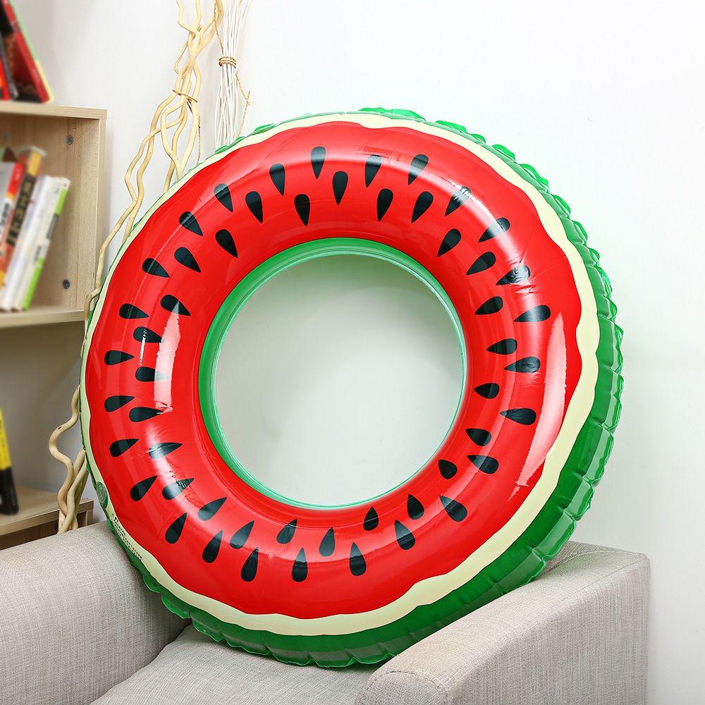 Outlife Wassermelone Aufblasbare Schwimmen Ring Pool Float für Erwachsene Kinder