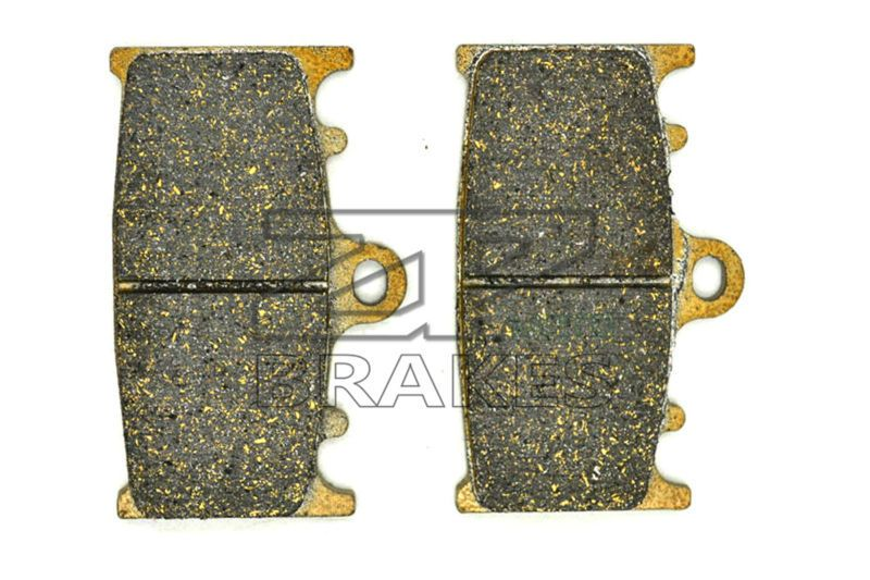 New Organic Brake Pads For Front SUZUKI GSX 400 S, Katana (GK53C/D747) 1992-,GSR 400 K6 2006-2008,TV 350 Goose 1992- BRAKING