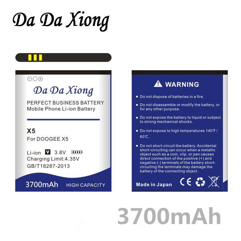 Da Da Xiong 3700 mAh DOOGEE X5 Batterie für DOOGEE X5 DOOGEE X5S DOOGEE X5 PRO Batterie