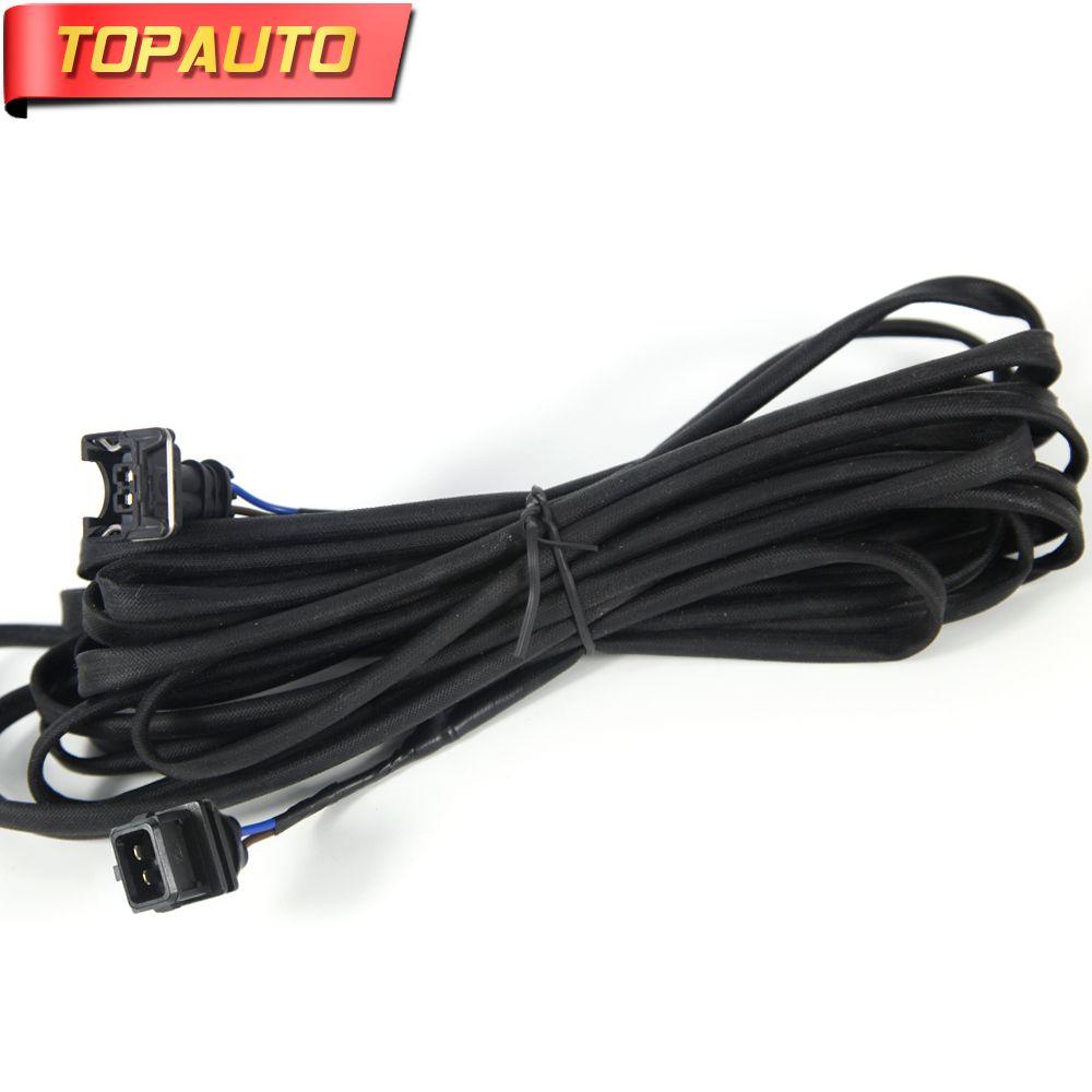 TopAuto Oil Pump Connection Wires 2 Plugs Lines For Webasto Heater Air Diesel Parking Heater for Automobiles Cars Truck Caravan