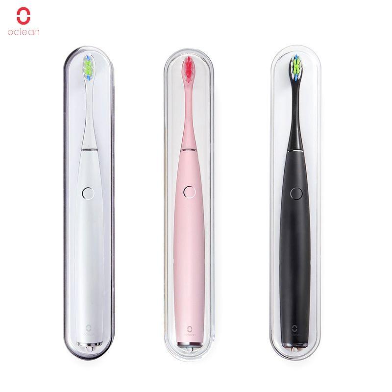 Xiaomi Oclean One SE Électrique ensemble de brosse à dents + 2 tête de brosse Support Mural de la navigation APP Contrôle Étanche Rapide De Charge brosse à dents
