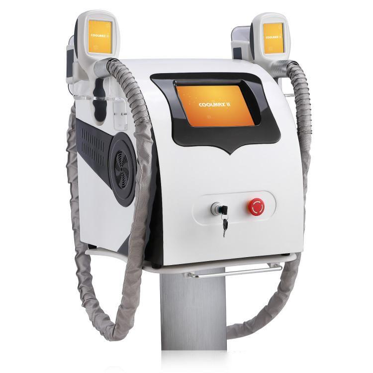 2019 neue Ankunft 2 Griffe Cellulite Entfernen Coole Technologie Fett Einfrieren Maschine Fett Reduktion für Salon Verwenden