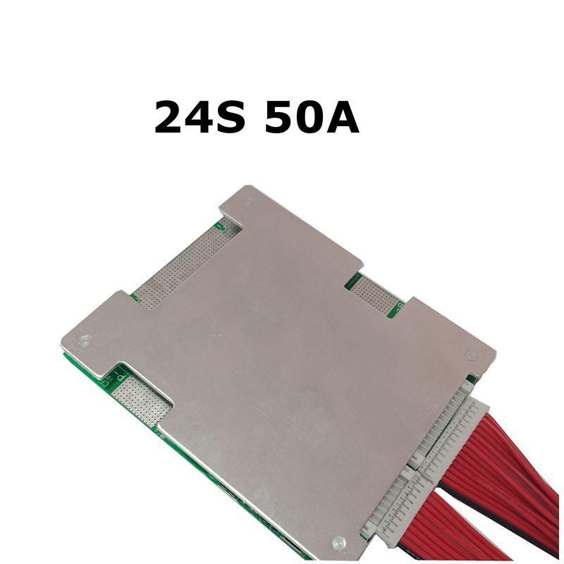24S 50A Lithium-eisen phosphat batterie BMS/LiFePo4 Teig Schutz Bord mit Balance Neue update