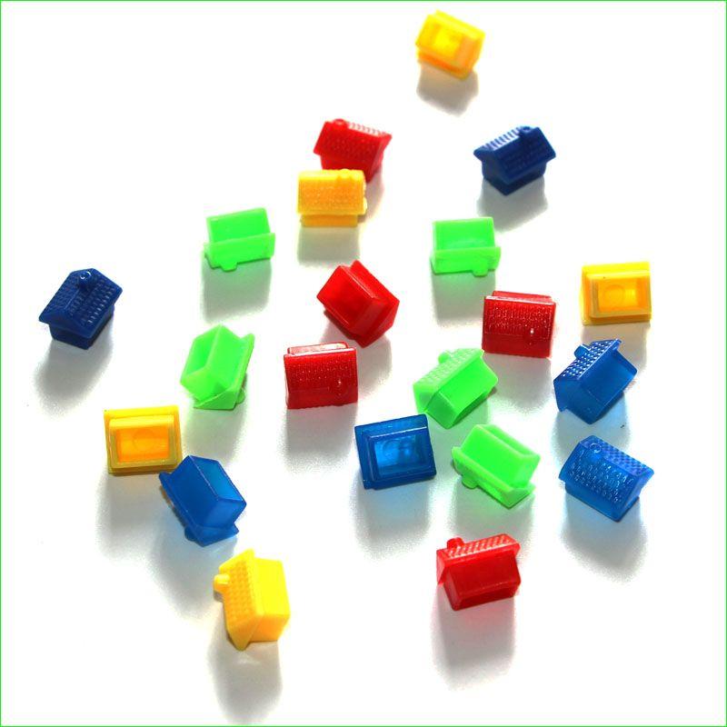 500 Unidades de Reposición De Plástico Casa de Juegos de Ajedrez Juego de Mesa Accesorios