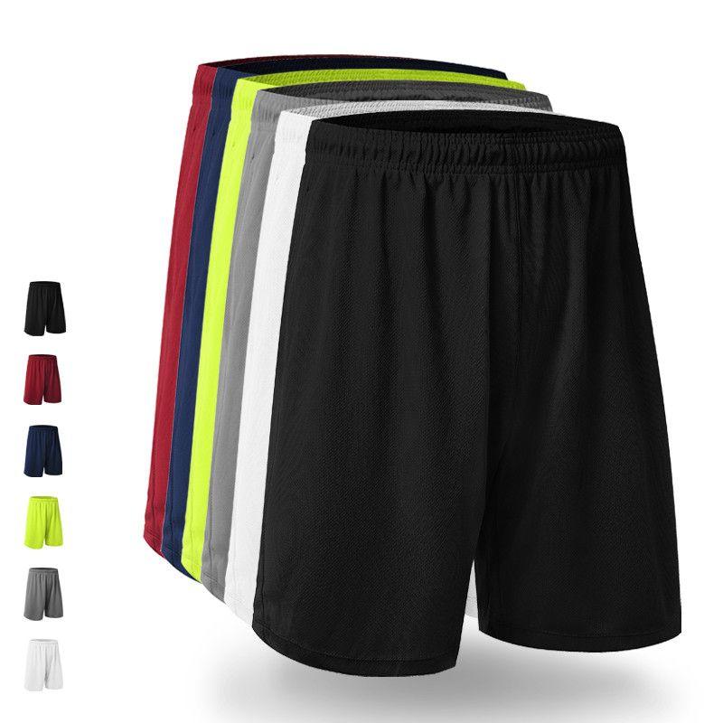 Hot Quickly Dry Polyester Pocket Men'S Shorts Basketball Football Fitness Gym Training Sport Shorts Plus Size Running Shorts Men